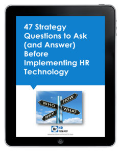 47 Strategy Questions for HR Tech