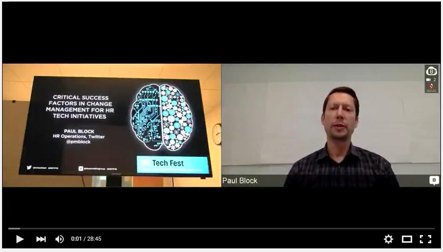 Paul Block_HR Tech Fest 2015_ Video